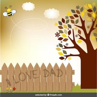 Pais Cartão do dia