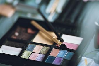 Paleta de maquiagem