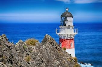 Palliser farol da Nova Zelândia cape