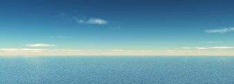 Panorâmica de mar