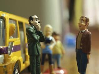 paragem de autocarro brinquedos