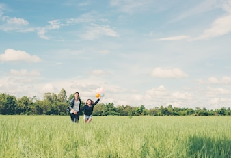 Pares em um greenfield