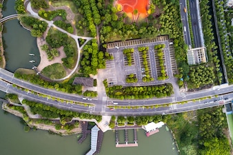 Parque de fotografia aérea