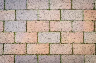 Peças pedras de tijolo fundo stonewall
