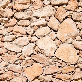 Pedra marrom vazia. Textura de fundo