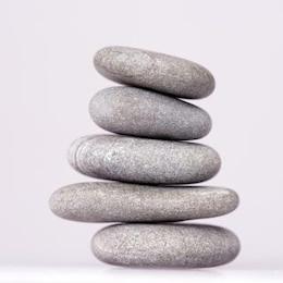 pedra meditando torre