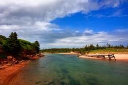 pei praia paisagem hdr costeira
