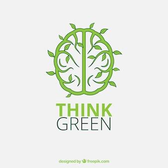 Pense verde