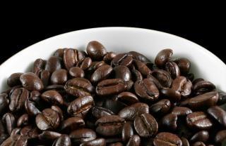Perto assado café