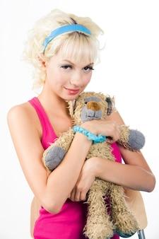 Pestana moda casual teddybear pulseira