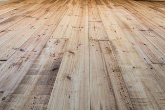 Piso de madeira de pinho bonita