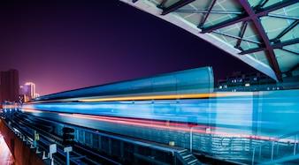 Plataforma Vazio da Estrada de Ferro