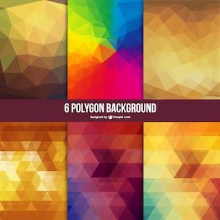 Polígono livre vector backgrounds