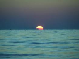 pôr do sol, verão
