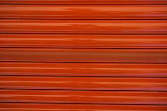porta do rolo do metal vermelho