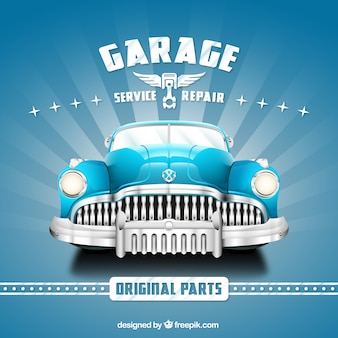 Poster Garagem