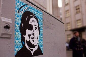 Poster Urban na parede