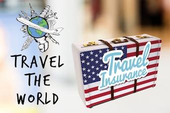 Poster viagem à América