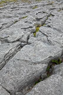 Poulnabrone textura de pedra cinzenta hdr