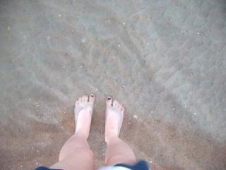 Praia de areia de praia