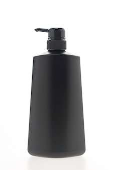 Preto depósito de sabão líquido