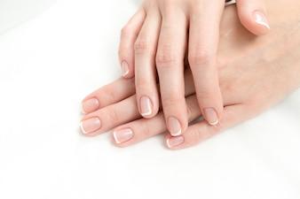 Processo francês de manicure