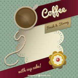 Projeto do molde do café