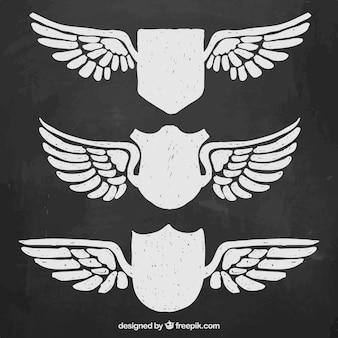 Protetor com asas