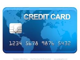 PSD ícone do cartão de crédito
