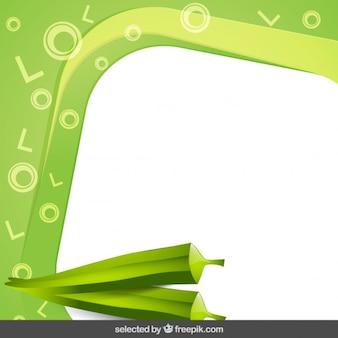 Quadro com pimentão verde