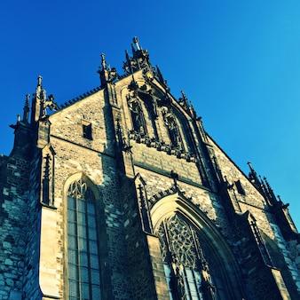 """Bela e antiga catedral de baixo"""