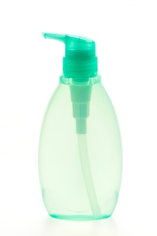 Recipiente de plástico do sabão líquido