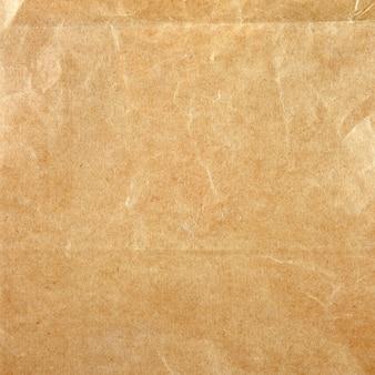 Recolhido amassado textura de papel - fundo de folha de papel marrom