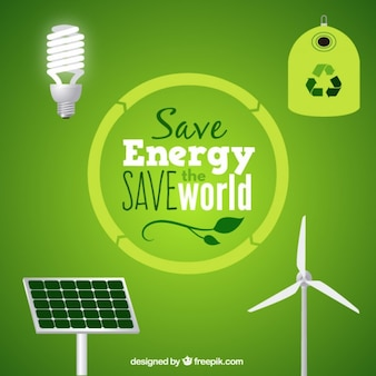 Recursos de energia limpa