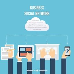Rede social de negócios