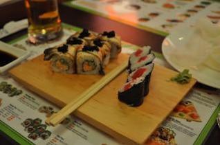 refeição japonesa