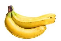 refeição saudável bananas