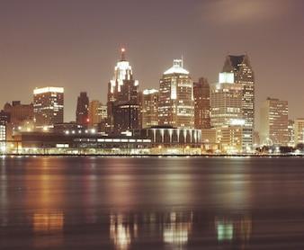 Reflexões cidade em movimento