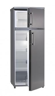 Refrigerador aberto