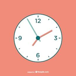 Relógio vector download livre