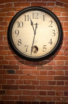 Relógios antigos estilos vintage retro