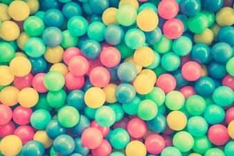 Resumo da cor da bola colorida criança