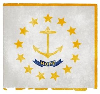 Rhode Island grunge bandeira