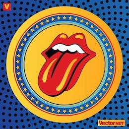 Rolling Stones lábios logotipo