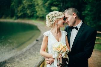 Romance casal verão amo feliz