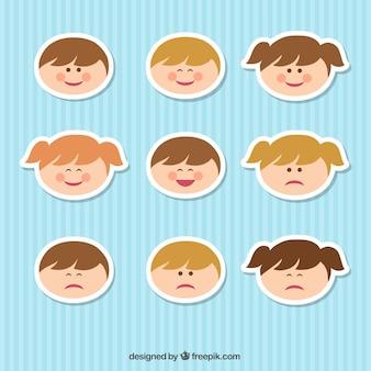 Rostos de Criança