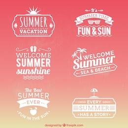 Rótulos de Verão
