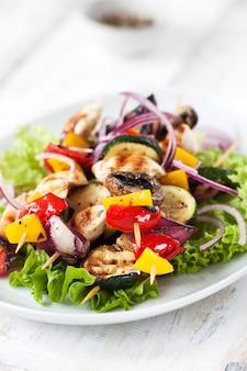 Salada de pepino torrado