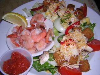 saladas coloridas, alface