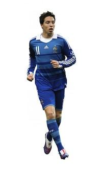 Samir Nasri, a França da selecção nacional